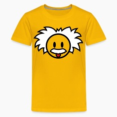 Smiley Einstein Icon 3c Kids' Shirts
