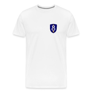 8th Infantry Div - Men's Premium T-Shirt