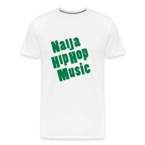 Naija Hip Hop Music  - Men's Premium T-Shirt