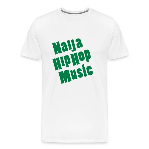 Naija Hip Hop Music  - Men's Premium T-Shirt