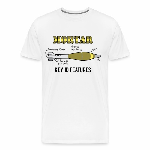 Mortar Key ID Features - Men's Premium T-Shirt