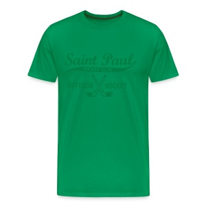 All Green T-shirt - Men's Premium T-Shirt