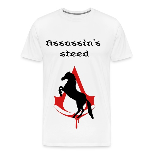 assassins steed - Men's Premium T-Shirt