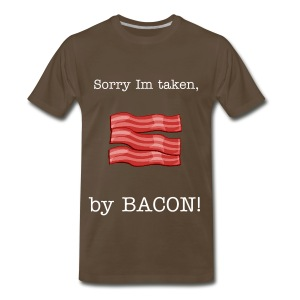 taken by bacon - Men's Premium T-Shirt