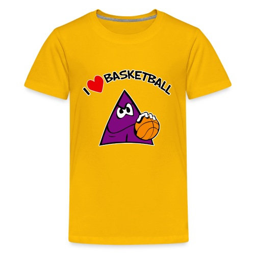 Kids I Love Basketball - Kids' Premium T-Shirt