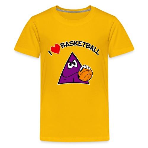 Kids I Love Basketball - Kids' Premium T-Shirt
