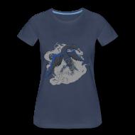 T-Shirts ~ Women's Premium T-Shirt ~ God of Dreams Women's Plus Size