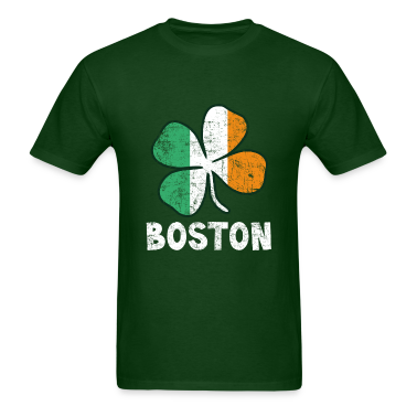 Boston Irish Flag T-Shirts