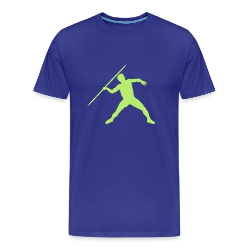 Lime Light Javelin - Men's Premium T-Shirt