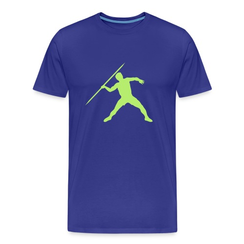 Lime Light Javelin - Men's Premium T-Shirt