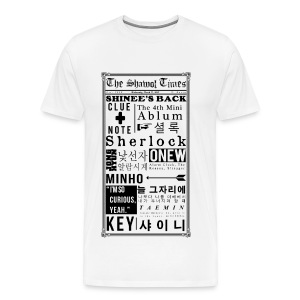 Shinee- Sherlock Men's Plus Tee - Men's Premium T-Shirt