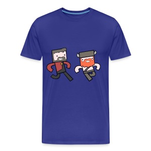 Big/Tall Mens Tee: Hey Yogscast - Men's Premium T-Shirt