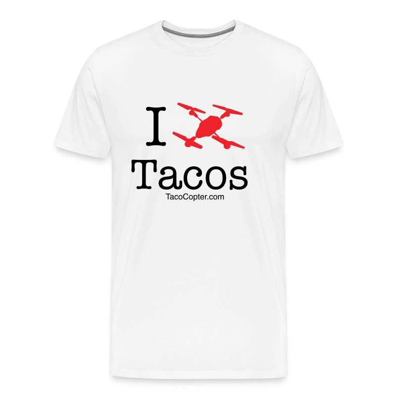 tacocoptershirt4red - Men's Premium T-Shirt