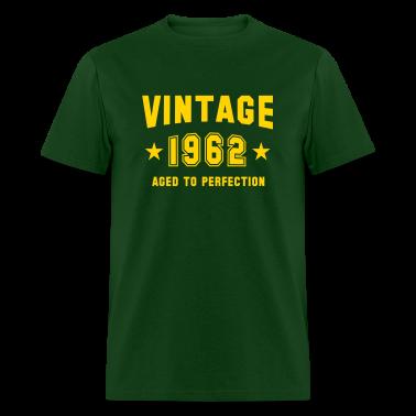 VINTAGE 1962 - Birthday T-Shirt YG