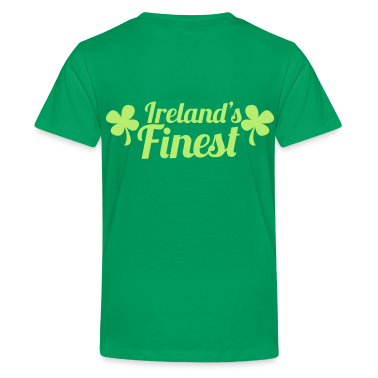 IRELAND's FINEST good for St Patrick's day Kids' Shirts