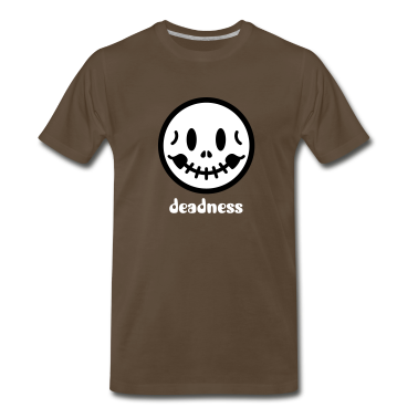 Skull Smiley Icon 2c T-Shirts
