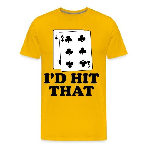 I'd Hit That Shirt - Men's Premium T-Shirt
