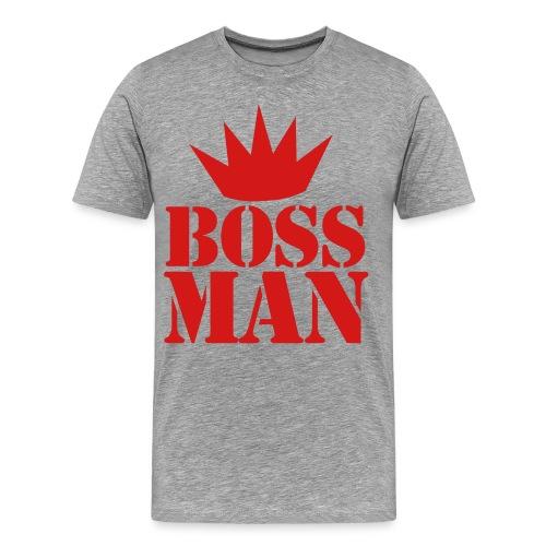 your boss - Men's Premium T-Shirt