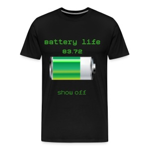 battery life - Men's Premium T-Shirt