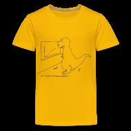 Kids' Shirts ~ Kids' Premium T-Shirt ~ T-Rex Exponential Growth Chart (kid's)
