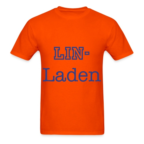 Lin Laden Orange? - Men's T-Shirt