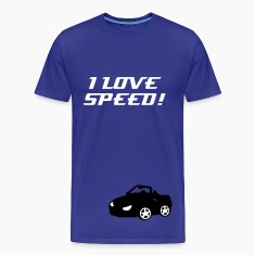 I love speed Men's Heavyweight T-Shirt