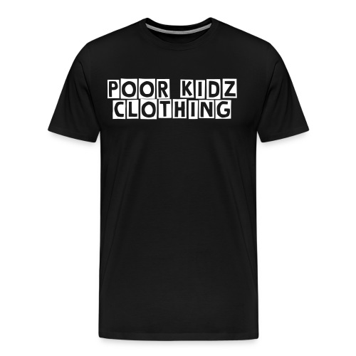 Poor Kidz Cutter T-shirt - Men's Premium T-Shirt