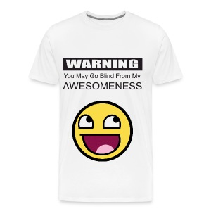 awesome blindness - Men's Premium T-Shirt