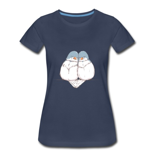 Love Birds - Women's Plus Size - Women's Premium T-Shirt