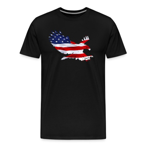 Screaming American Eagle - Men's Premium T-Shirt