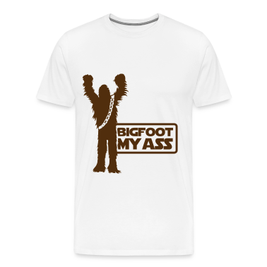 Bigfoot, My Ass (Brown) - Men's