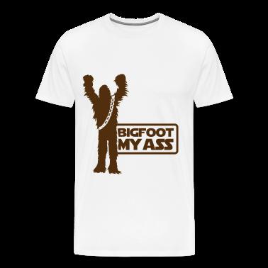 Bigfoot, My Ass (Brown) - Men's