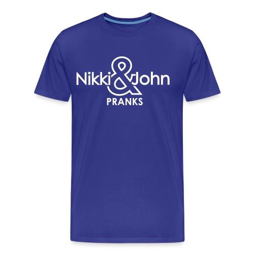 Nikki & John Pranks Men's Tee - Men's Premium T-Shirt