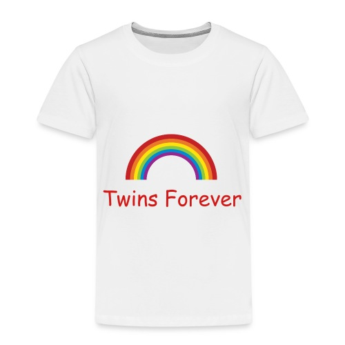 Twins Forever t-shirt - Toddler Premium T-Shirt