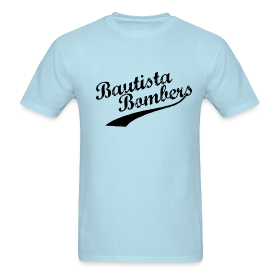 Bautista Bombers T-Shirt(Men's) ~ 351