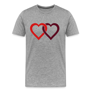 two hearts T-Shirts