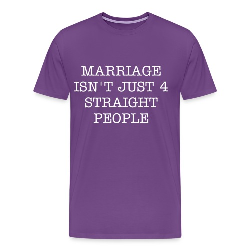 Marriage Equality - Men's Premium T-Shirt
