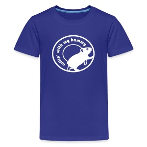 'Rollin' with my Hammy' Children's T-Shirt  - Kids' Premium T-Shirt