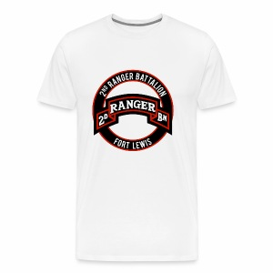 2nd Ranger Ft Lewis - Men's Premium T-Shirt