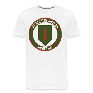 1st Infantry Big Red One - Men's Premium T-Shirt