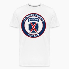 10th Mountain Ft Drum T-Shirts