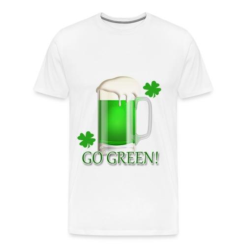 Go Green! - Men's Premium T-Shirt
