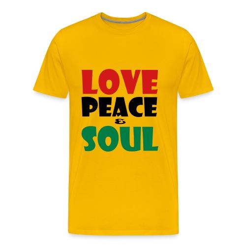 LOVEPEACESOUL_1 - Men's Premium T-Shirt