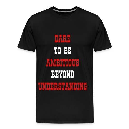 Ambition Team Mens Shirt - Men's Premium T-Shirt
