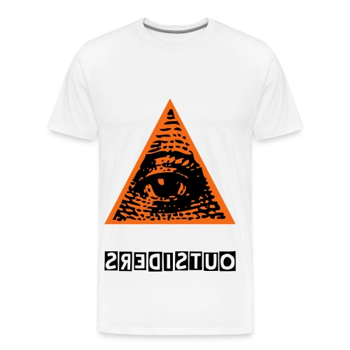 Outsiders Illuminati  - Men's Premium T-Shirt
