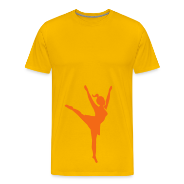 stretching reaching piroette cheerleader cheerleading T-Shirts