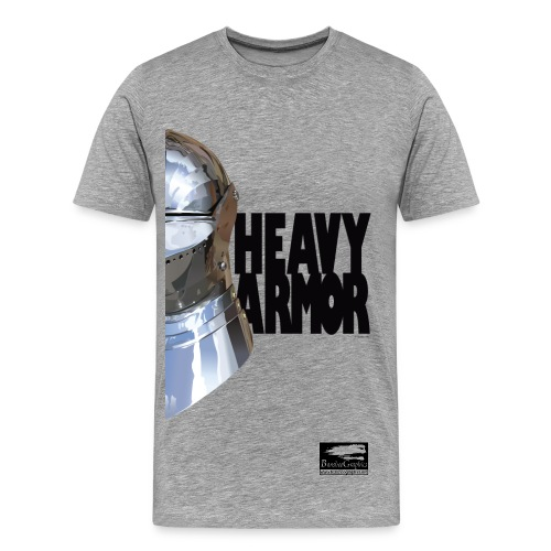 Heavy Armor Bansheegraphics - Men's Premium T-Shirt