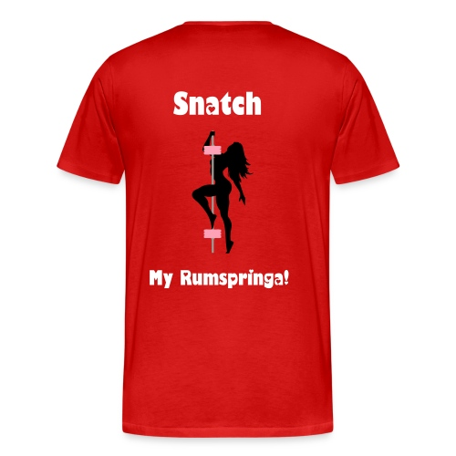 Men's Snatch My Rumspringa! - Men's Premium T-Shirt