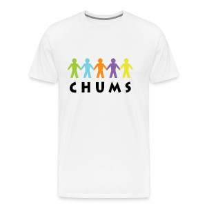 CHUMS White T-Shirt - Men's Premium T-Shirt