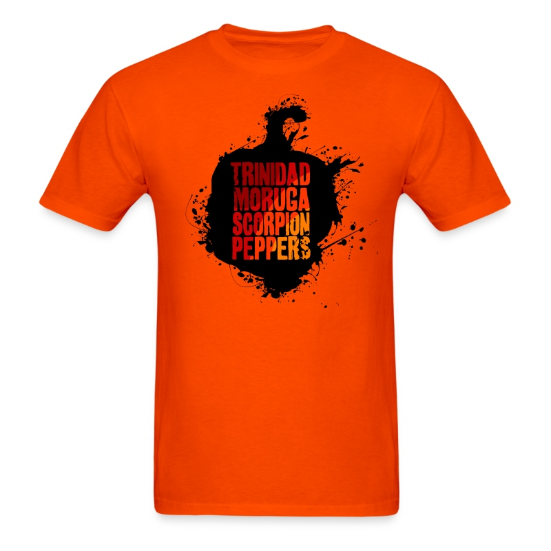 World's Hottest Chili Peppers - Men's T-Shirt